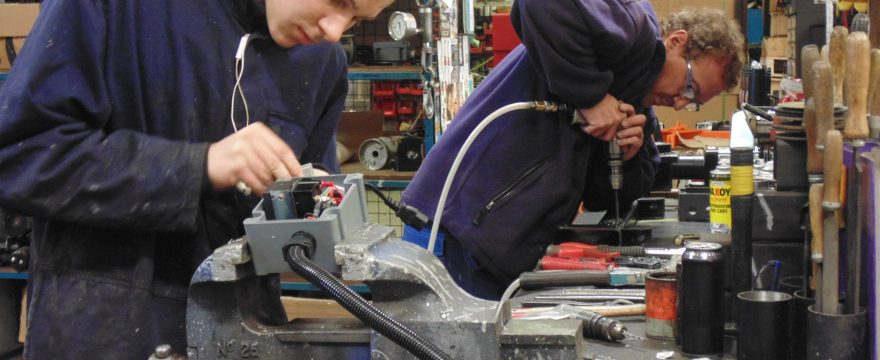 Penny Hydraulics allocates all new apprentices a dedicated mentor